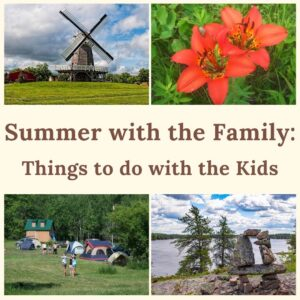 Summer with the Family: Things to do with the Kids